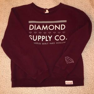 Diamond supply co. Crewneck